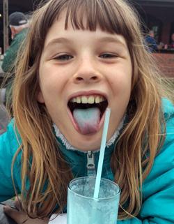 Blue Tongue Olive